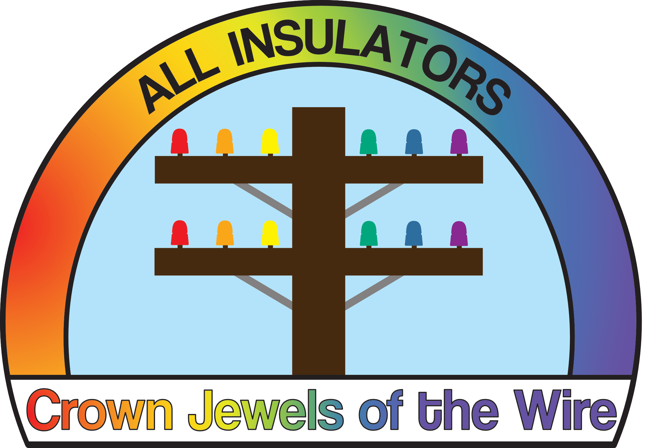 All Insulators, Crown Jewels of the Wire Logo